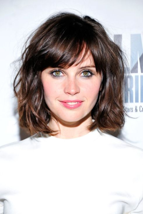 felicity jones flequillo